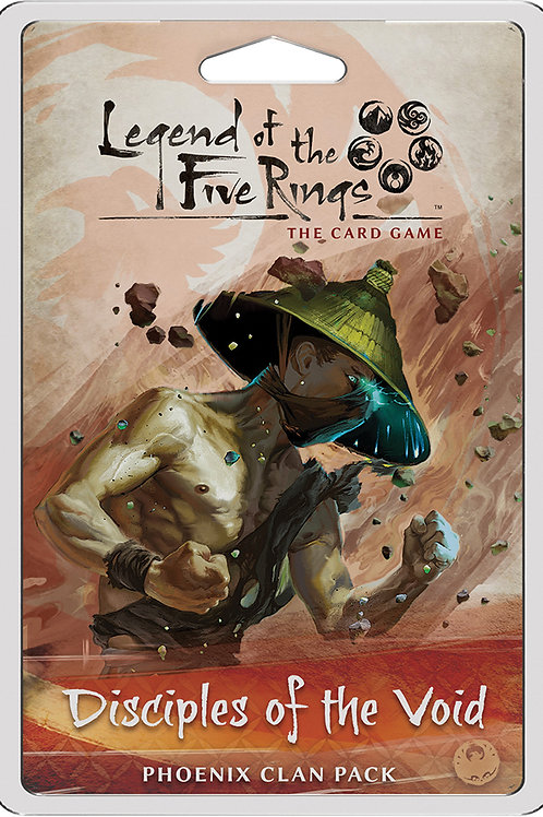 Legend of the Five Rings LCG Disciples of the Void - Phoenix Clan Pack
