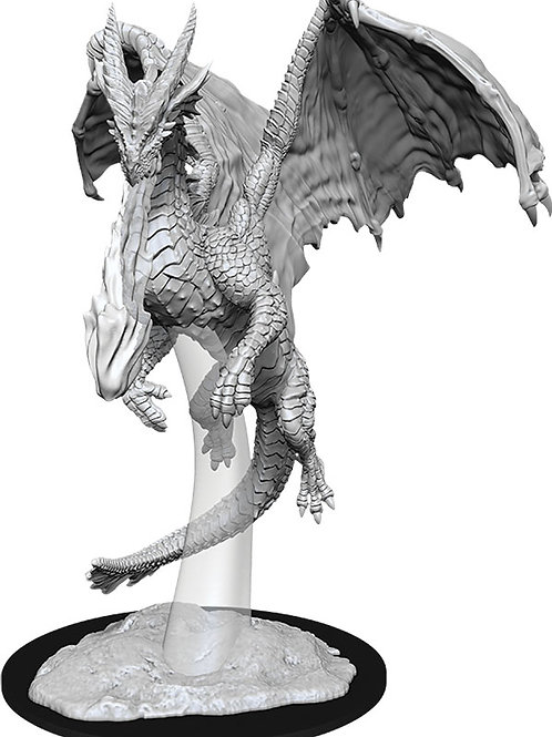 D&D Unpainted Miniatures: W11 Young Red Dragon