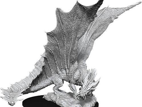 D&D  Unpainted Miniatures: W11 Young Gold Dragon