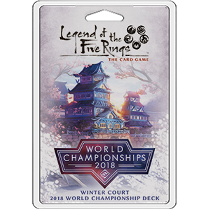 Legend of the Five Ring LCG: Winter Court 2018 World Championship Deck