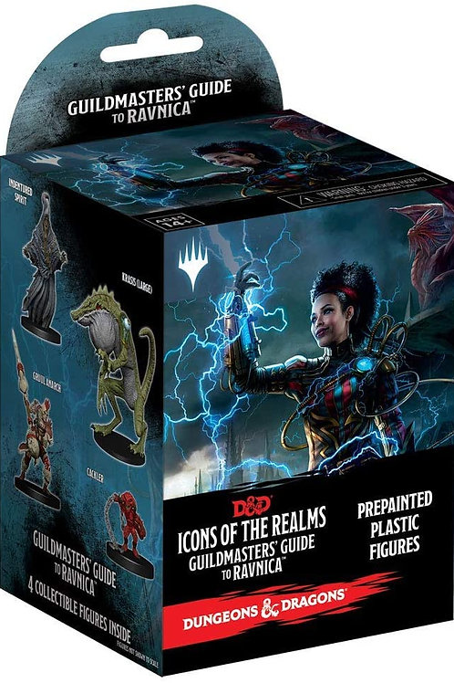Fantasy Mini: Icons of the Realms Set 10 Guildmasters` Guide to Ravnica Booster