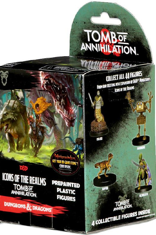 D&D Fantasy Miniatures: Icons of the Realms Set 7 Tomb of Annihilation Booster