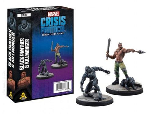 Marvel Crisis Protocol Black Panther & Killmonger