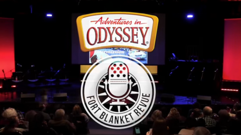 Fort Blanket Revue Performs Classic Adventures In Odyssey Scripts with Katie Leigh and Will Ryan
