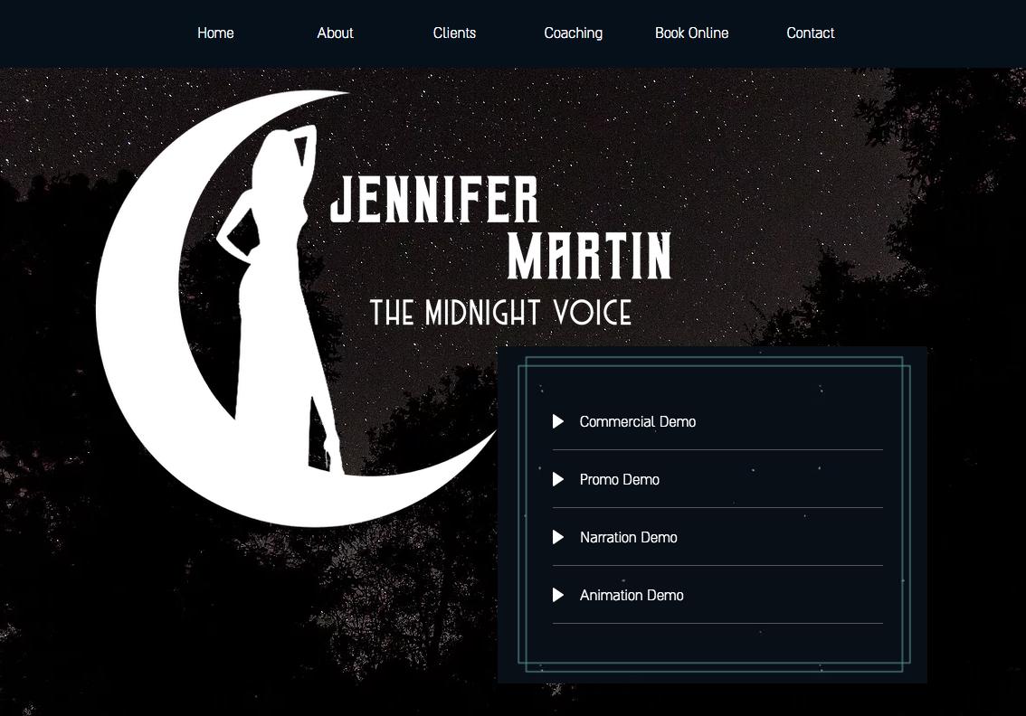 Jennifer Martin Voiceover