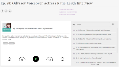 Jaymee Hull Mentoring Interview with Katie Leigh