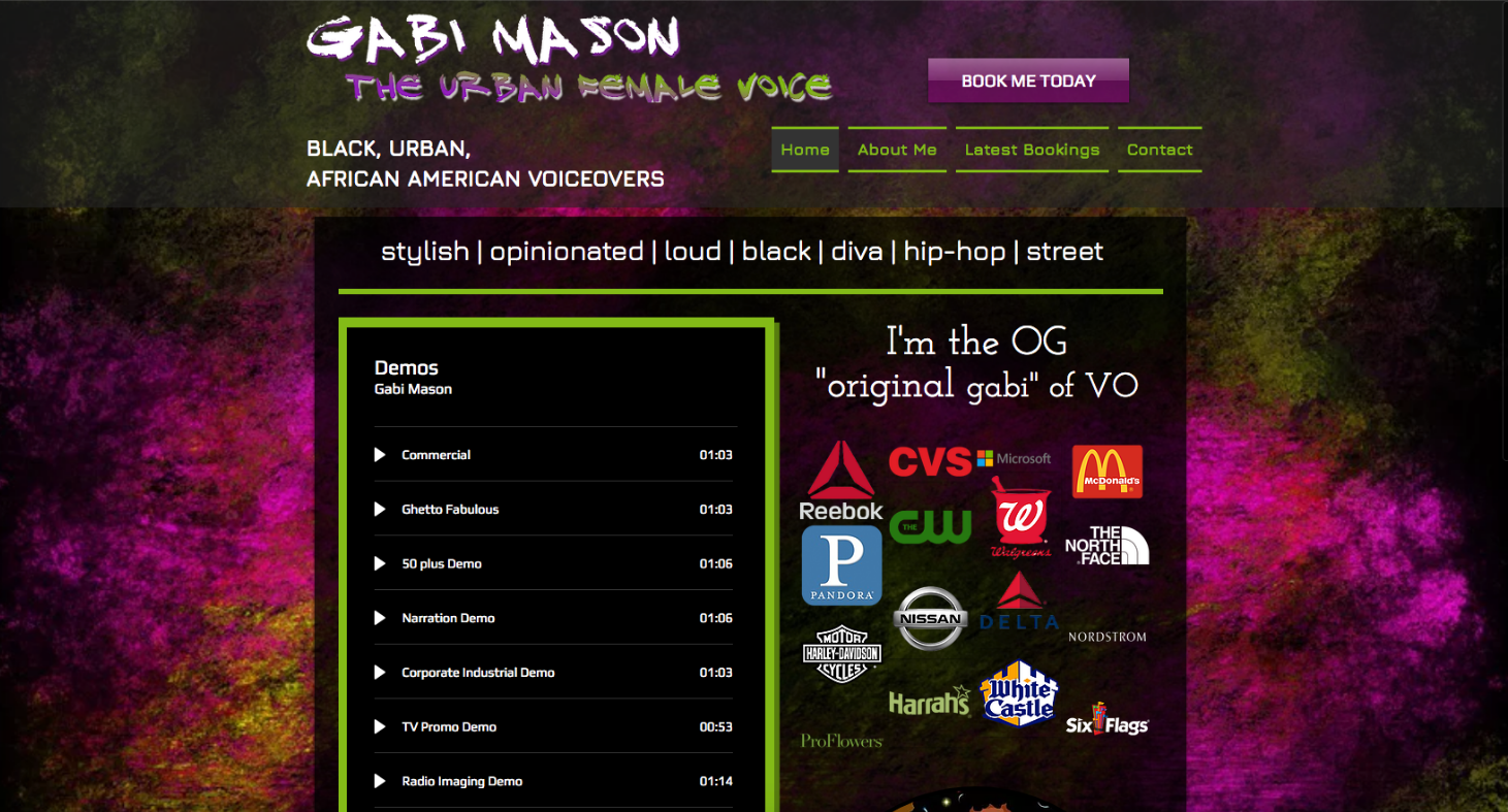 Gabi Mason - Urban Female Voice