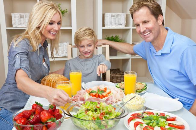 Организация здорового питания дошкольников дома