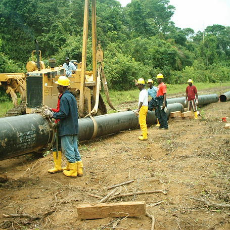 "Construction of 24"" pipeline for LNG phase 3 gas supply project for AGIP"