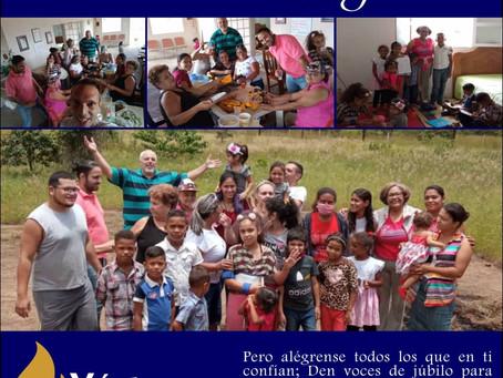 Ofrenda misionera recaudada para Venezuela
