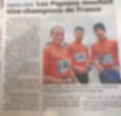 Adapt'form vice champion de France de Longe-côte