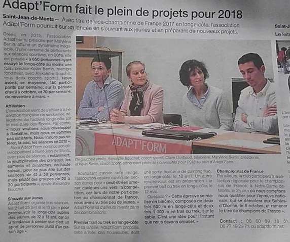 Adapt'form projet 2018