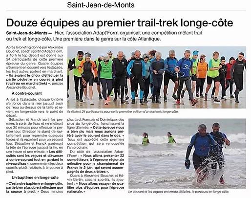 Adapt'form Trail Trek Longe cote