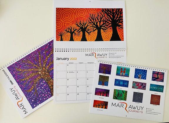 2021 13-month calendar