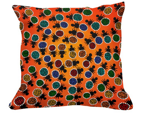 Collaboration cushion cover+insert