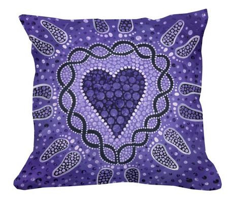 Unconditionally kind cushion cover + insert