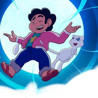 Steven Universe with Mew