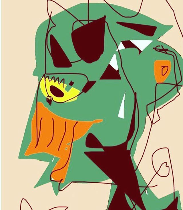 #kol #kolart #artnumerique #experimentation #coquette #toohot #art #dessin #ordinateur
