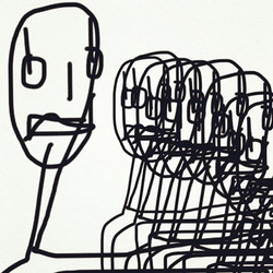 Falling #kol #kolart #art #blackandwhite #design #copyright #digitalart #lausanne #atelier93 #rumeur