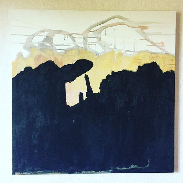 _Lavaux_ 100x100cm _#lavaux #abstract #painting #art #artbasel  #contemporaryart #kolart #kol #paysa