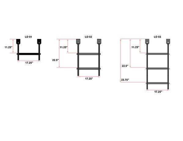ladder three step assmebled.JPG