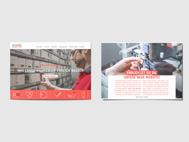 Flyer - Neue Webseite