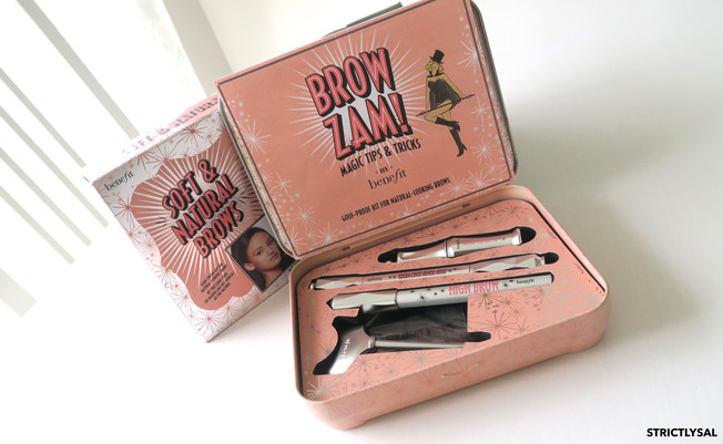 Benefit's Soft and Natural Brow Kit