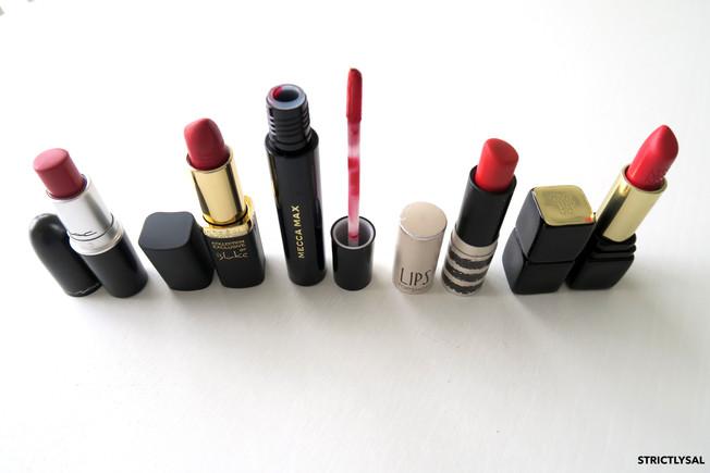 My Favourite Red Lipsticks