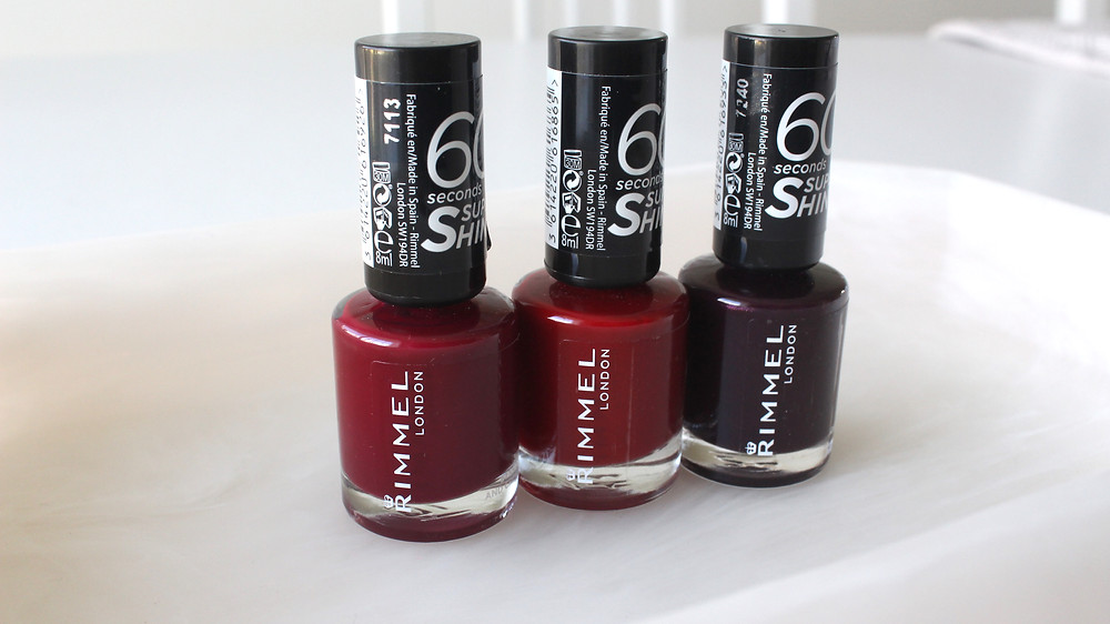 RIMMEL LONDON 60 Second Nail Polish