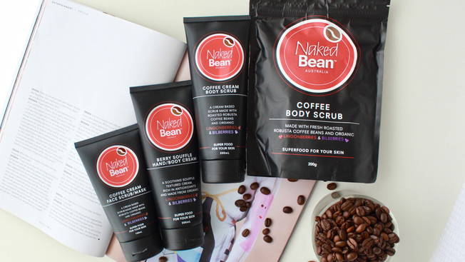 COFFEE GOODNESS FROM NAKED BEAN AU
