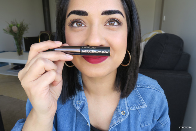 Maybelline Tattoo Brow Gel Tint Review