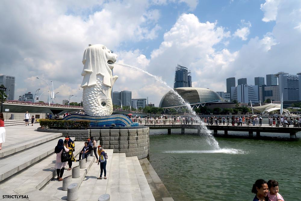 Mer Lion, Singapore