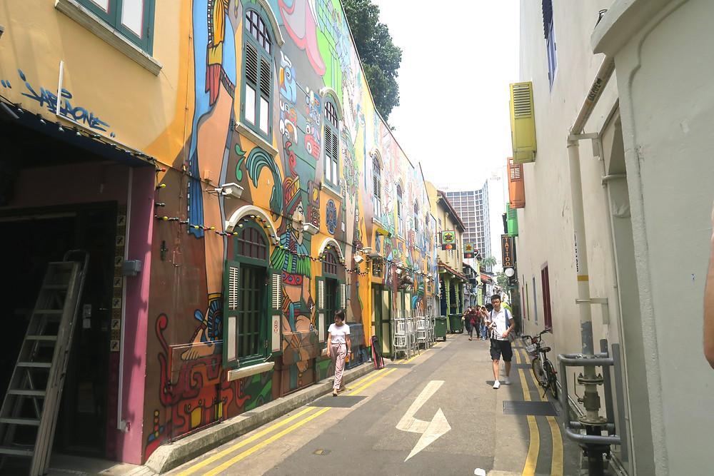 Art Work on Haji Lane
