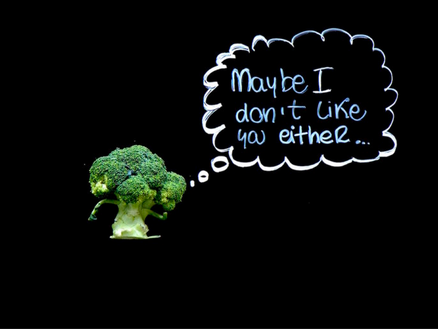 BROCCOLI, THE MOST DISLIKED VEGETABLE.