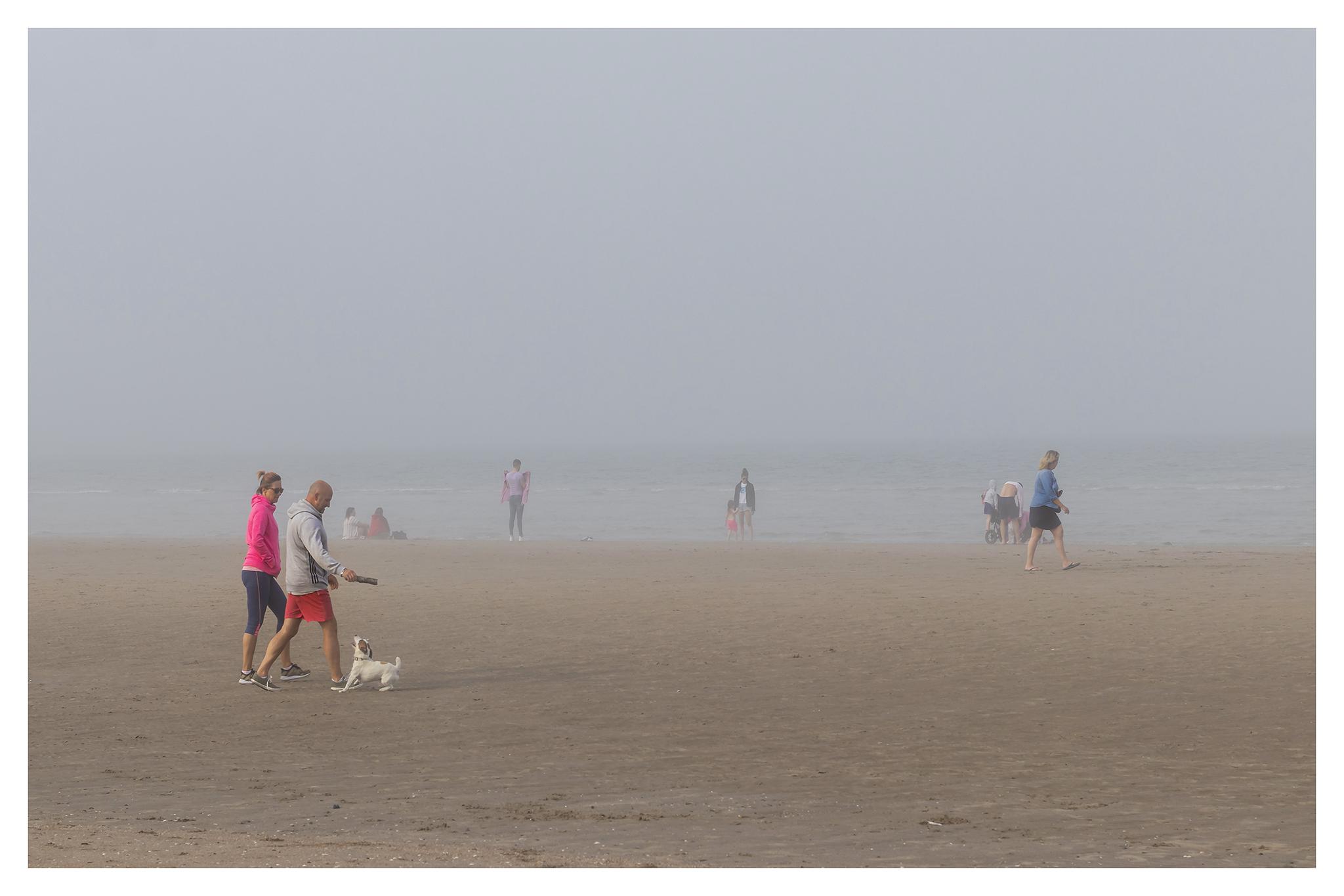20 - Postcard from a misty Portmarnock