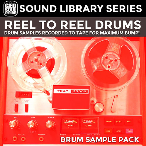 G.E.D. Soul Sound Library - Reel to Reel Drums Vol.0