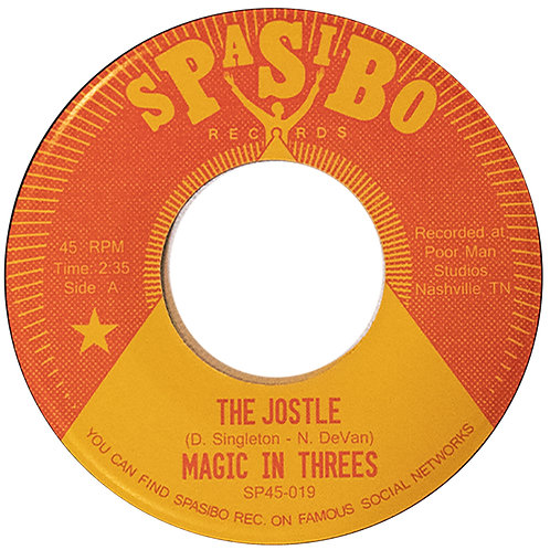 "Magic In Threes - ""The Jostle"" b/w ""Coming Up"" 7"""