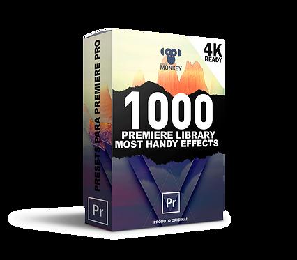 1000+ Elementos e Presets Biblioteca de vídeos para Premiere Pro