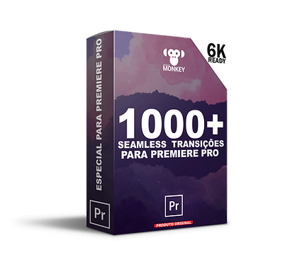 1000+ Transições perfeitas para Premiere Pro