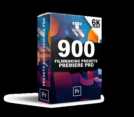 900 Effects Pack e Transições Premiere Pro