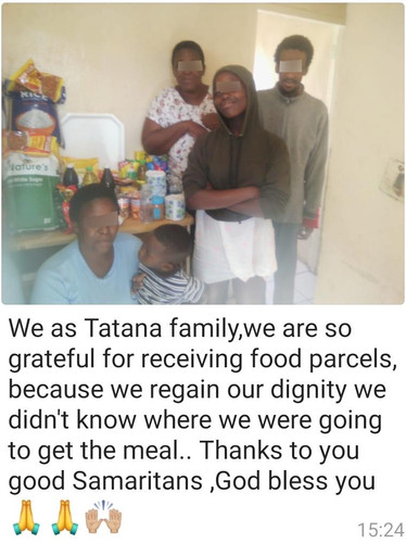 Family 1 Khayetlitsha COVID-19 Cape Town