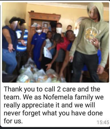Nofemela family from Gugulethu