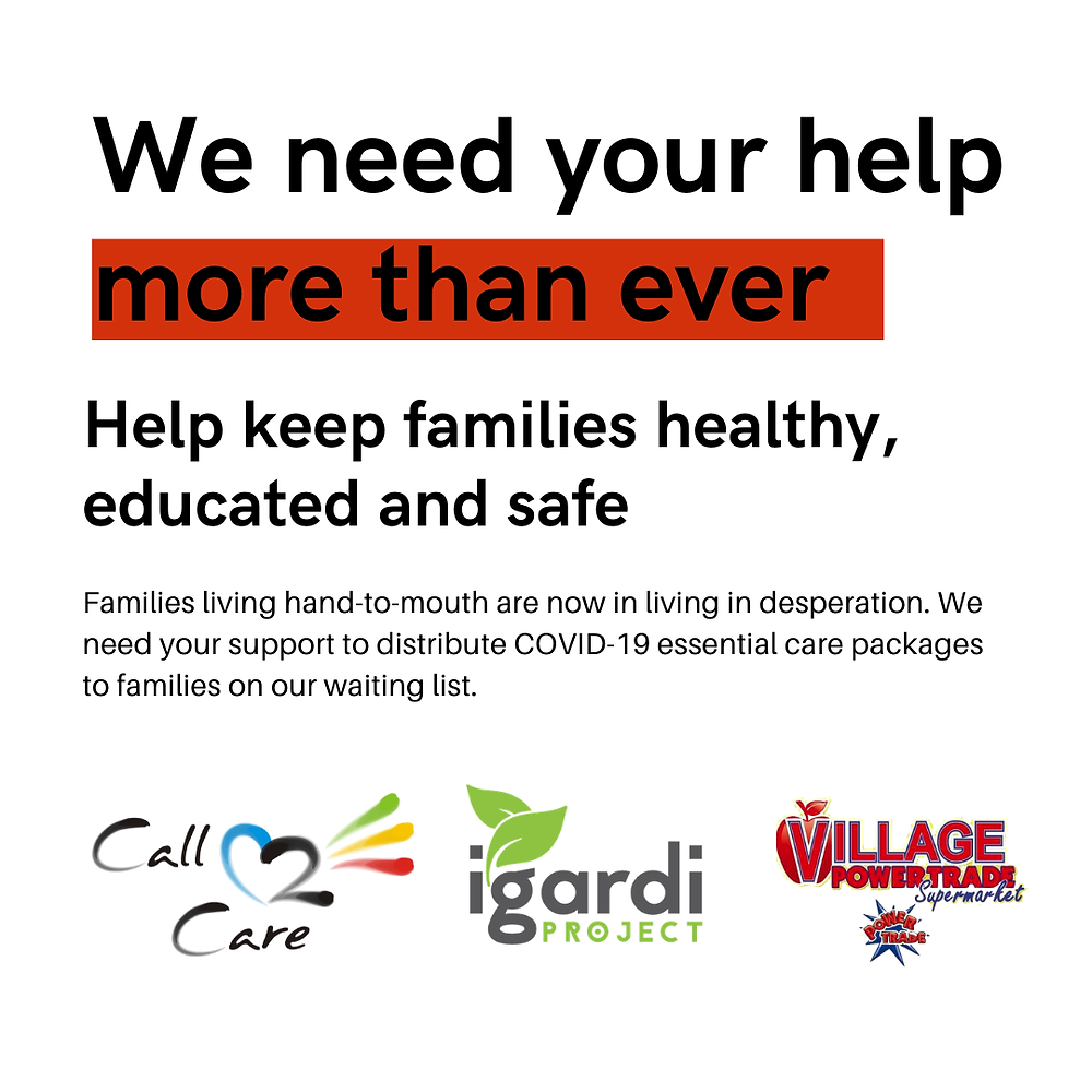Families living hand-to-mouth have lost their jobs or income due to the COVID-19 Pandemic and are left destitute. We need your support to provide COVID-19 Essential Care Packages to families on our waiting list. To assist families in need, we have partnered with Village Power Traders, a large family-run wholesaler, to source wholesale products at bulk cost price. Our base parcel includes essential food and hygiene products and costs only R255 per person and is well below retail value. Additional female sanitary and baby items are added to parcels in consultation with families in need. Shipped with these parcels, we are providing families with customised educational materials to educate and empower these families in the fight against COVID-19.