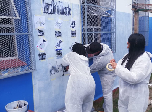 B&M Analysts participate in a CSR Team Build at Thembani, Cape Town