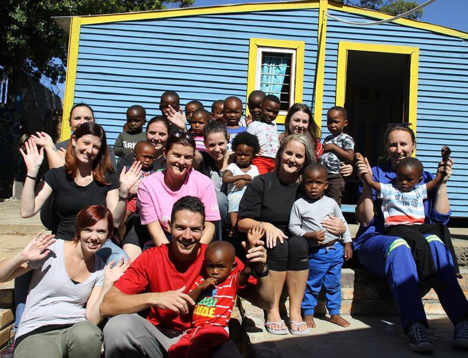 Volunteer, Paint, Creche, Early Childhood Development, Give Back