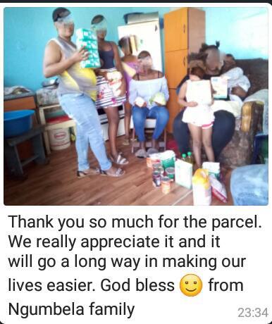 Ngumbela Family from Gugulethu