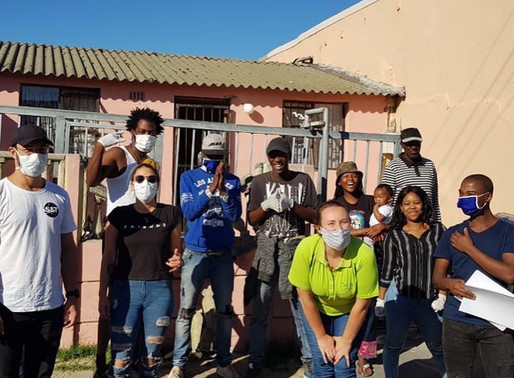 COVID-19 Food, Hygiene & PPE Parcels provided to Gugulethu (Cape Town) for families in need
