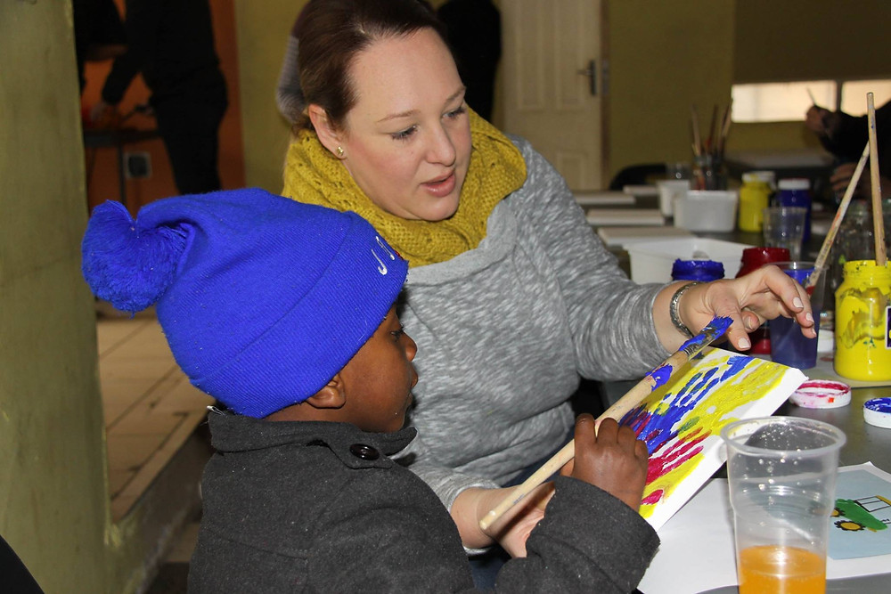 Paint, Creche Revamp, Soup Kitchen, NPO, Volunteer, Fun, Team Build, Community Outreach, Vulnerable Communities Volunteer Programs, Sustainable Development Projects, NGO, Non Profit, Non Governmental Organisation, Cape Town, South Africa, Disadvantaged community, Community Development Consultant Corporate Social Responsibility (CSR)