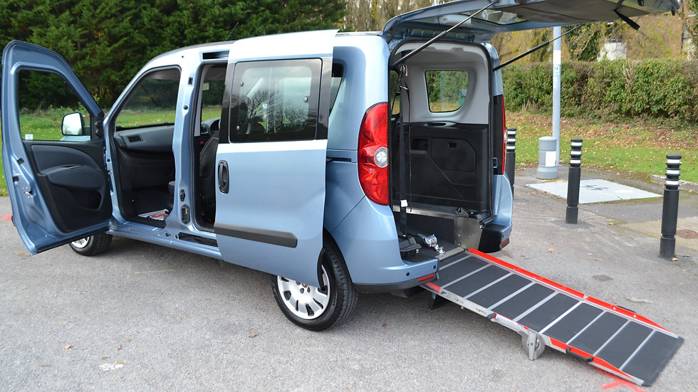2013 13 Fiat Doblo 1.4 Mylife 5dr Wheelchair Accessible Vehicle
