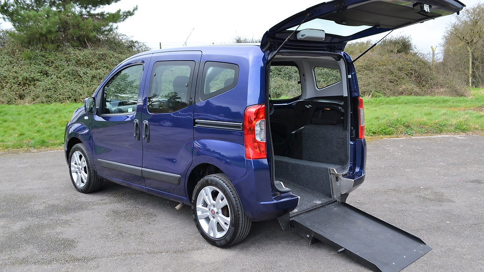 2013 63 Fiat Qubo 1.4 Mylife - Wheelchair Accessible Vehicle